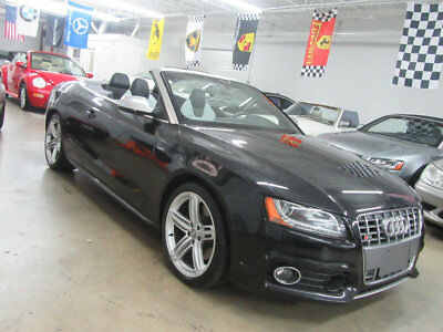 2011 Audi S5 2dr Cabriolet Prestige $73,000msrp LOADED! FREE SHIPPING W/ BuyItNow immaculate florida nonsmoker car