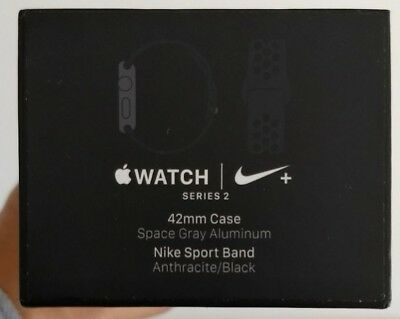 2 X Apple Watch Series 2/3 42mm NIKE BOX ONLY FREE SHIPPING