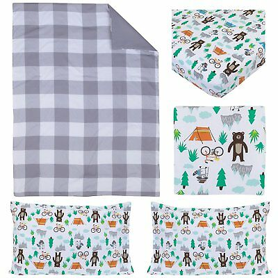 Carter's Woodland 4 piece Toddler Bedding set - Forest