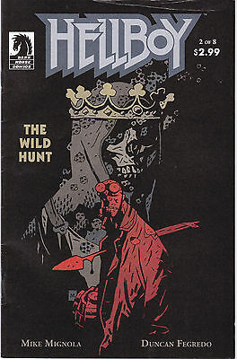 HELLBOY: THE WILD HUNT 2 - 1st CAMEO APP BLOOD QUEEN (MODERN AGE 2007) - 6.0