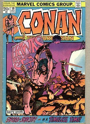 Conan The Barbarian #19-1972 vg/fn Barry Windsor-Smith