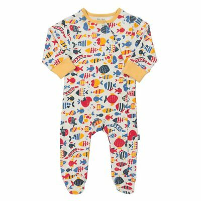 Kite Fishy Sleepsuit Organic baby Clothing 0-3 Months