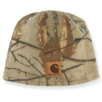 "CARHARTT Girls Youth Force Swifton Reversible Camo Hat ""Realtree Print"" LOGO NWT"