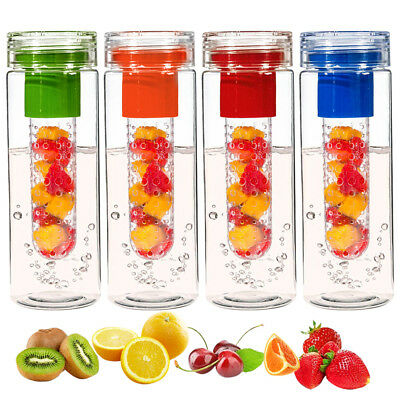 700ml Fruit Infuser Water /Infusion /Outdoor Sports Bottles BPA Free Healthy