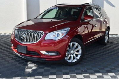 2014 Buick Enclave Premium Sport Utility 4-Door 2014 Sport Utility Used Gas V6 3.6L/217 6 FWD Leather Red
