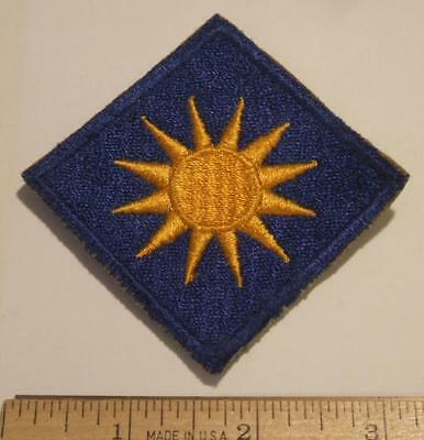 ORIGINAL WW2 US ARMY 40th INFANTRY DIVISION CUT EDGE PATCH ~ NO GLOW