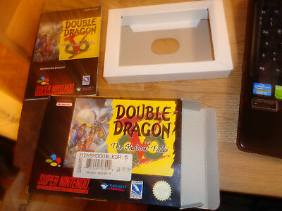Super Nintendo, Snes OVP zu Double Dragon V