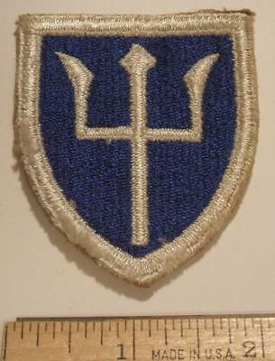 ORIGINAL WW2 US ARMY 97th INFANTRY DIVISION CUT EDGE PATCH ~ NO GLOW