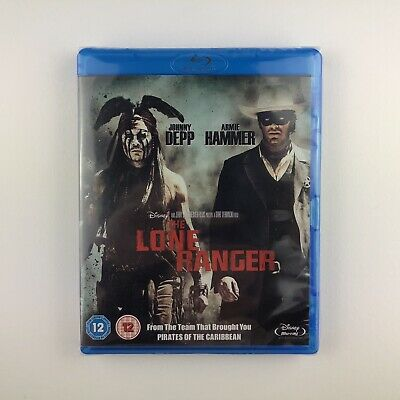 The Lone Ranger (Blu-ray, 2013) *New & Sealed*