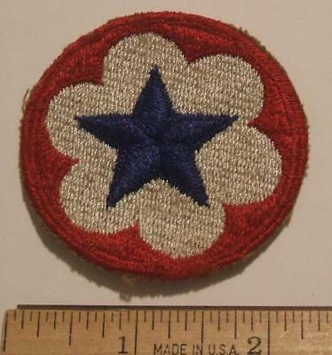 Original Ww2 Us Army Service Forces Cut Edge Patch ~ No Glow