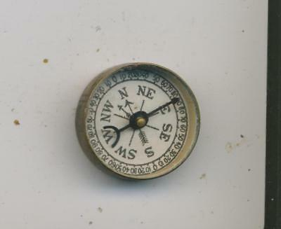 DR Scott's Electric Brush advertising compass antique vintage