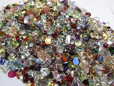 Natural Mixed Faceted Loose Gemstone Parcel Lot 25 Ct Mix Facets