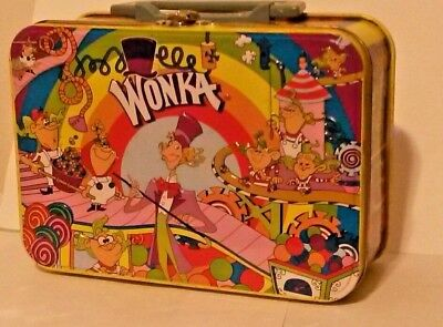 vintage Willy Wonka lunch tin