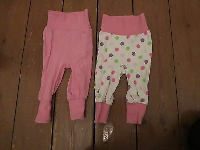Pair of girls H&M 2 -4 months old trousers