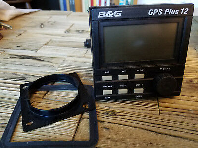 B&G Brookes and Gatehouse GPS Plus 12 – Boat / Sailboat LCD Display Scre