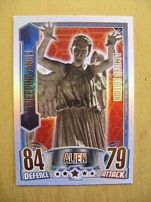 """Topps Doctor Who """"alien Attax""""  Card - Limited Edition - Weeping Angel -  2012"""