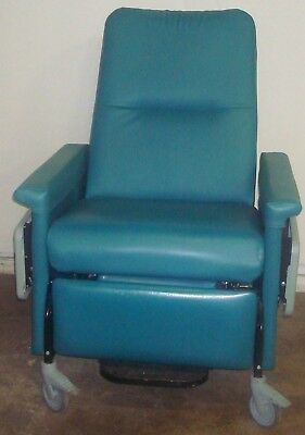 Champion 56 Series Green Bariatric Patient Recliner Medical Dialysis Chair