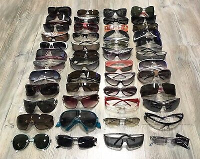 Lot Of 48 Pairs Of Vintage Sunglasses Made In Italy New From Old Optical Shop