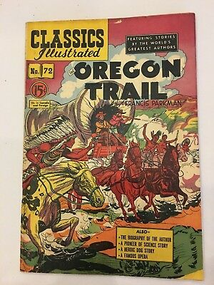 Classics Illustrated Comics lot of 1 Canadian issue # 72 hrn 75