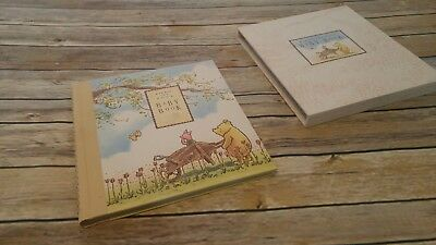 Classic Winnie The Pooh baby memory book birth record scrap book