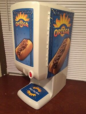 Ortega Nacho Cheese or Chili Dispenser Commercial LARGE! Great For Parties!!