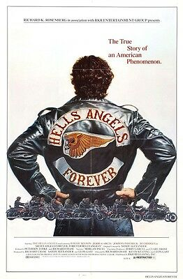 Poster Hells Angels MC 1% Sonny Barger HAMC AFFA 81 Big Red Machine Biker Harley