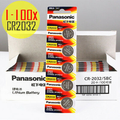 Panasonic 3V CR2032 Lithium Coin Cell Battery replaces DL2032 ECR2032