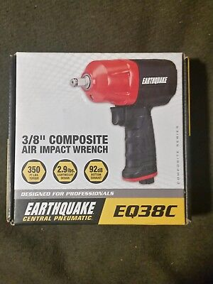 "NEW  EarthQuake 3/8"" Air Impact Wrench EQ38C new at stores 128.99"