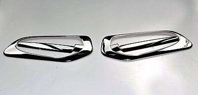 Mercedes Actros MP4  Door Handle Covers Super Polished  Stainless Steel 4 Piece