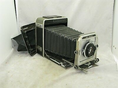 Graflex 4x5 Super Graphic with Lens FOR PARTS REPAIR OR DISPLAY