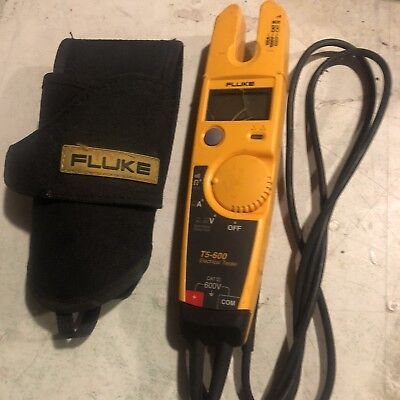 Fluke T5-600 Electrical 600V Voltage, Continuity and Current Tester