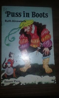 vintage Puss in Boots book - Ruth Ainsworth