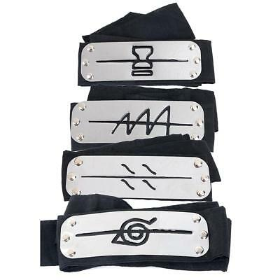 Naruto Anime Sand Village Anti Leaf Ninja Headband Cosplay Costome Accessory