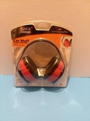 MCR Safety Ear Muff Noise Reduction Medium Protection Industrial Lightweight New