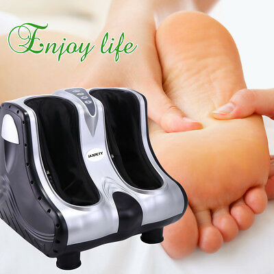 Vibration In Foot >> Electric Kneading Rolling Vibrating Foot Calf Leg Massager Heated
