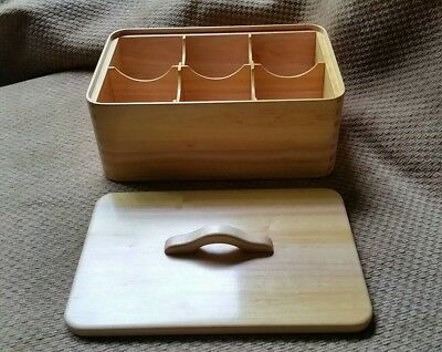 Dovecote Woodworking RARE Chittem CASCARA BUCKTHORN reclaimed wood tea bag box