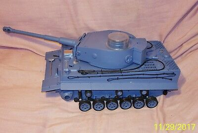 Heng Long R/C German Tiger Tank 1/16 Scale As Is for parts