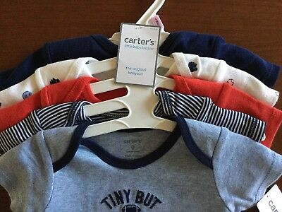 Nwt Carter'S Boys Infants Size 9 Months ~ Five Piece Set Of Bodysuits Msrp $26