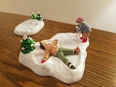 Department 56 Snow Village Angels in the Snow, excellent condition