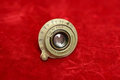 Vintage Leitz Leica Elmar 50mm f/3.5 collapsible screw mount lens for repair