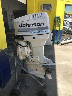 90hp Johnson Outboard Motor