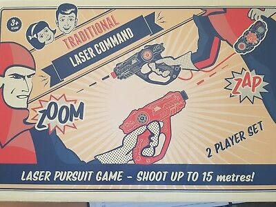 Laser Command Lader Pursuit Tag Game. 2 Playerset. New. Shoot Up To 15 Metres