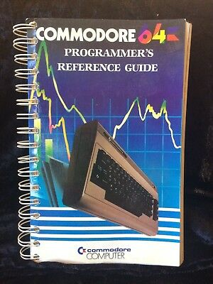 Commodore 64 Programmers Reference Guide  RARE Ex. Condition Vintage Retro C64