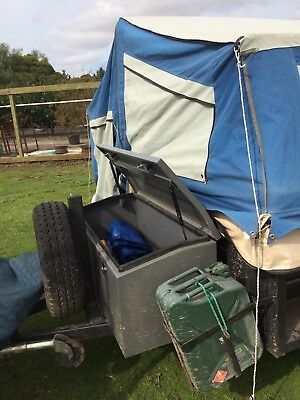 camper trailer semi off road with brand new annexe in excellent condition