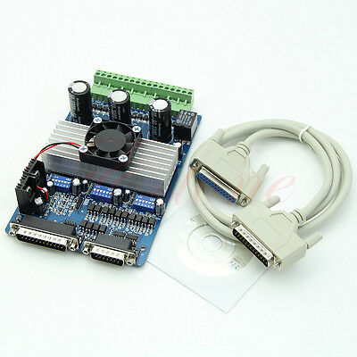 3 Axis CNC 3.5A Router TB6560 Stepper Motor Driver Board Engraving Machine New