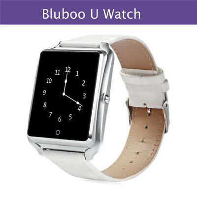 New Bluboo Bluetooth  U Watch Smart Watch Waterproof for Android iOS-White