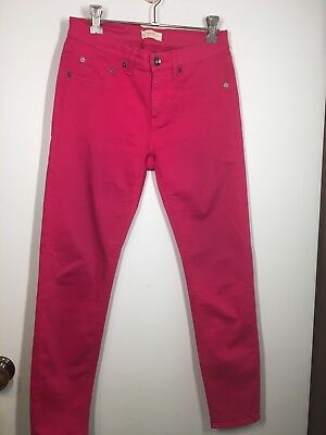 Seed Heritage Pink Pants Jeans Size 8 Skinny Ankle Cropped