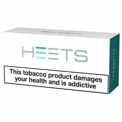 IQOS Heets Menthol Turquoise Label from Marlboro 800 Sticks 4 Stangen NEU!