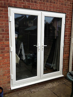 White uPVC French Doors  **Made to Measure** UK MANUFACTURED
