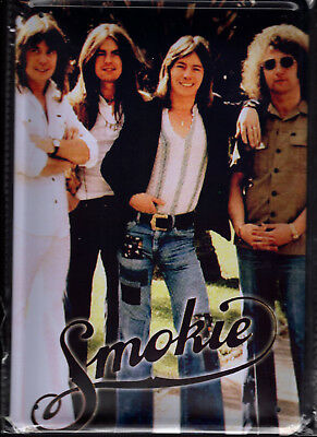 Blechschild 20x30 - NEU new Metal sign - Smokie-Retro